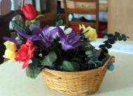 Flower Basket Still Life