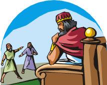 King Ahaseurus at Court