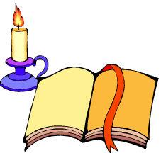 God Leader Bible Candle